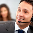 Customer service representative — Stock Photo #7774486