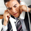 Busy business man — Stock Photo #7774504