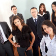 Business team in an office — Stock Photo #7774505