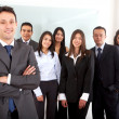 Group of office workers — Stock Photo #7774515