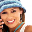 Royalty-Free Stock Photo: Casual girl on the phone