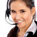 Customer service woman — Stock Photo #7774660