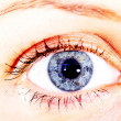 Foto Stock: Blue eye