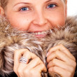 Winter fashion girl — Foto Stock