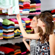 Girls out shopping — Stock Photo #7774732