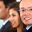 Business man with glasses — Stock Photo #7774781