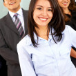 Business woman and team — Stock Photo #7774785