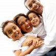 Family lifestyle portrait - Foto Stock