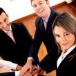 Business teamwork — Stock Photo