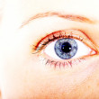 Blue eye - Stock fotografie