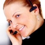 Customer service woman — Stock Photo #7774942