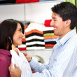 Couple shopping - Stock Photo