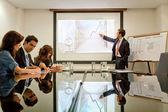 Företagspresentation — Stockfoto