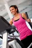 Beautiful gym woman — Stock Photo