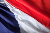 French flag — Stock Photo
