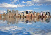 New York city skyline — Foto Stock