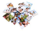 Family photos — Stock Photo