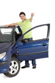 Man with a car — Stock Photo