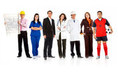 Professions and occupations — Stock Photo