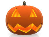 3D Halloween pumpkin — Stock Photo