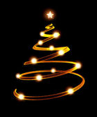 3d Christmas tree — Stock Photo