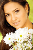 Exotic girl portrait — Stock Photo