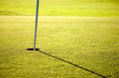 Golf hole — Stockfoto
