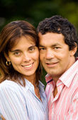 Happy couple portrait — Stockfoto