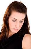Retrato feminino - tristeza — Fotografia Stock