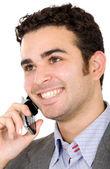 Hombre de negocios en el teléfono — Foto de Stock