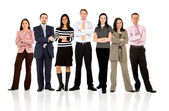 Business team standing — Foto Stock