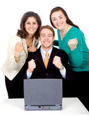 Business sucessful team — Stock Photo