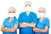 Group of surgeons — Stock Photo