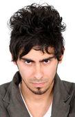 Malicious man portrait — Stock Photo