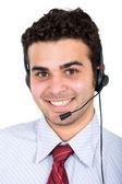 Customer service representative — Stock Photo