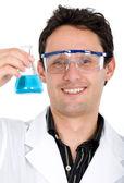 Químico hombre sonriendo — Foto de Stock