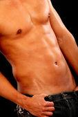 Fit male torso — Stock Photo