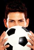 Fotbalista — Stock fotografie