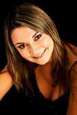 Smiling woman portrait — Stock Photo