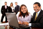 Office team — Stock Photo