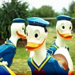 Stock Photo: Donald Duck ride