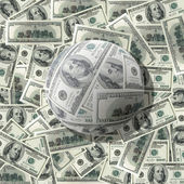 It is a lot of money — Stock Photo