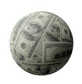 Dollar sphere — Stock Photo