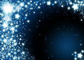 Xmas snowflakes background — Stock Photo