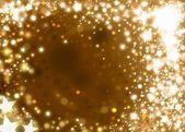 Xmas gold background — Stock Photo