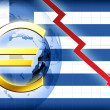 Greece crisis — Stock Photo