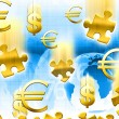 Stock Photo: Money concept background