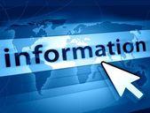 World information — Stock Photo