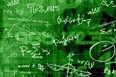 School math background — Stock Photo