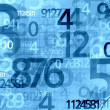 Numbers background — Stock Photo #7670338